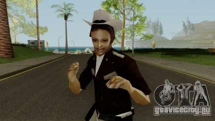 Cop Girl для GTA San Andreas