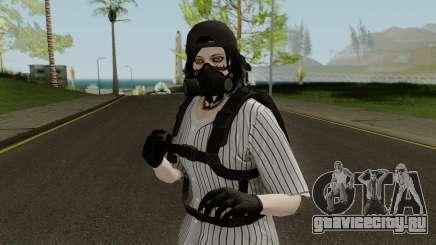 Skin GTA V Online (Normalmap) 1 для GTA San Andreas