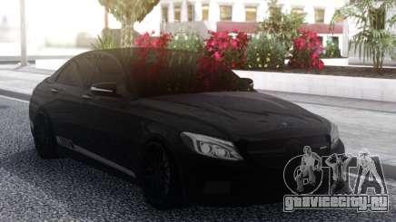 Mercedes-Benz C63S Black AMG для GTA San Andreas