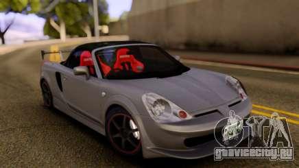 Toyota MR-S Carbon Spoiler для GTA San Andreas