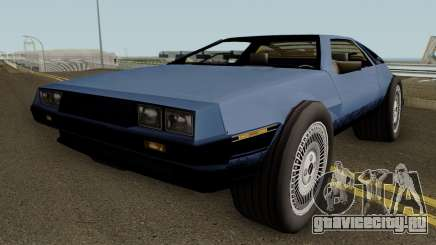 GTA SA Deluxo (Modified Delorean DMC 12) для GTA San Andreas