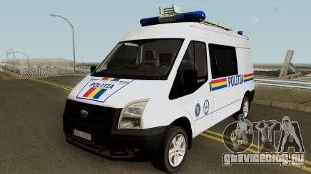 Ford Transit - Politia Romana для GTA San Andreas