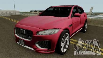 Jaguar F-Pace HQ для GTA San Andreas