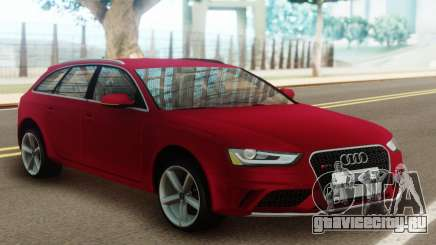 Audi A4 Avant 2012 для GTA San Andreas
