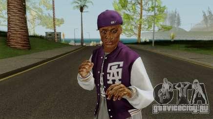 Ballas Member 1 GTA V для GTA San Andreas