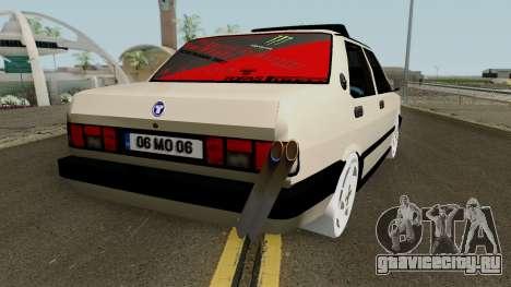 Tofas Dogan SLX (Modified) M.O.Yapım для GTA San Andreas вид справа