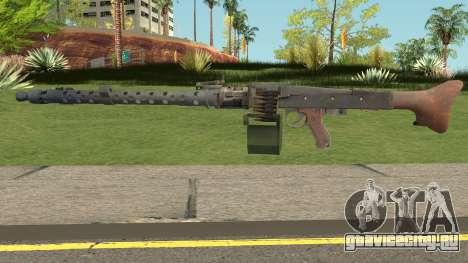 MG-34 Bad Company 2 Vietnam для GTA San Andreas