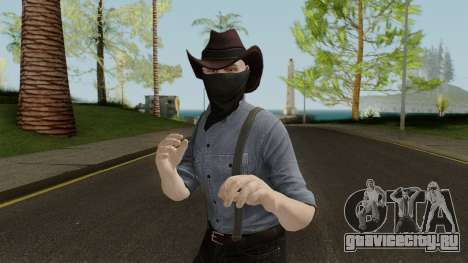 GTA Online Tribute to RDR 2 для GTA San Andreas