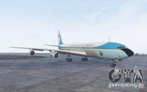 Boeing 707-300 Air Force One для GTA 5