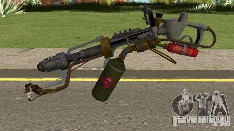 New Flamethrower HQ для GTA San Andreas