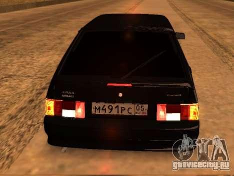 VAZ 2114 Improved Vehicle Features DAG Edit для GTA San Andreas