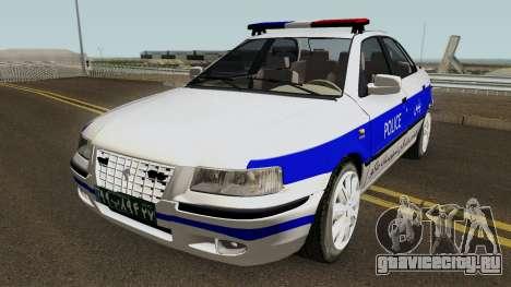 IKCO Samand Police LX v3 для GTA San Andreas