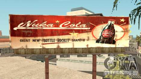 Nuka Cola Billboards для GTA San Andreas шестой скриншот