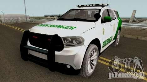 Dodge Durango San Andreas Park Ranger 2011 для GTA San Andreas