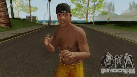 Skin Franklin V1 GTA V для GTA San Andreas