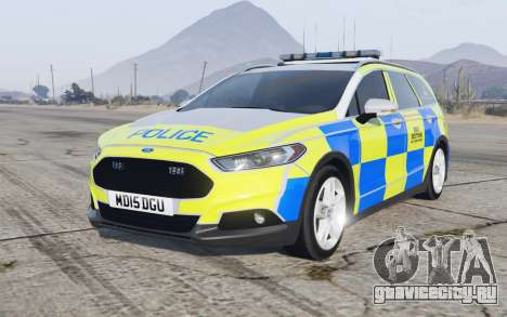 Ford Mondeo Estate 2014 Police Dog Section для GTA 5