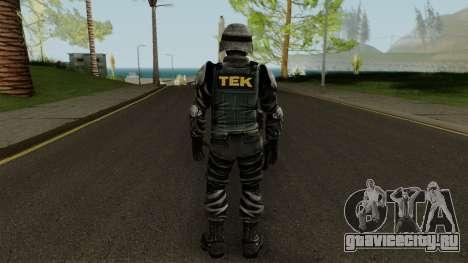 TEK Skin 3 для GTA San Andreas третий скриншот