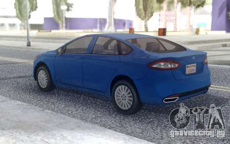 Ford Fusion 2016 Low для GTA San Andreas