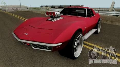 Chevrolet Corvette C3 Stingray HQ для GTA San Andreas