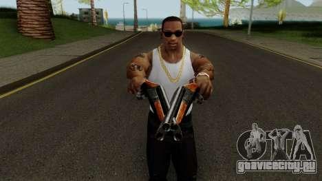 New Sawed-Off Shotgun HQ для GTA San Andreas