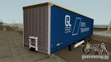 DFDS Transport Trailer для GTA San Andreas