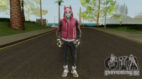 Fortnite Drift Outfit Tier 4 (con Normalmap) для GTA San Andreas