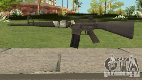 Colt Model 715 Bad Company 2 Vietnam для GTA San Andreas