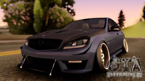 Mercedes-Benz C63 Street для GTA San Andreas