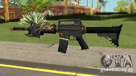 M4A1-S Beast для GTA San Andreas