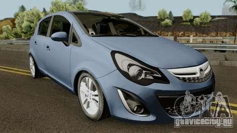 Opel (Vauxhall) Corsa D Phase 2 V1 для GTA San Andreas
