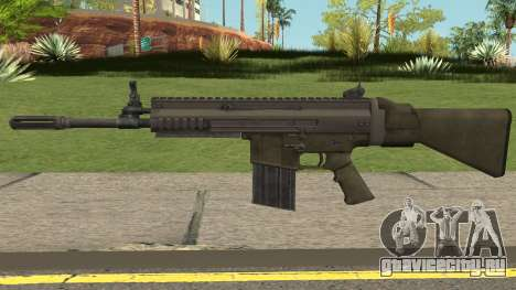 SCAR-H (Soldier of Fortune: Payback) для GTA San Andreas