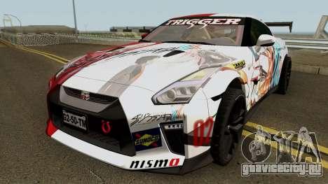 Nissan GT-R Premium R35 17 Itasha для GTA San Andreas