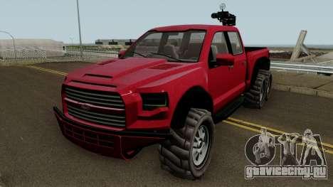 Vapid Caracara GTA V IVF для GTA San Andreas