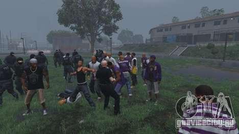 30 SWAT VS 60 Gangsters 1.0 для GTA 5 шестой скриншот