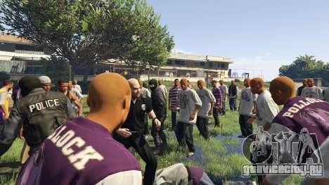 30 SWAT VS 60 Gangsters 1.0 для GTA 5 второй скриншот