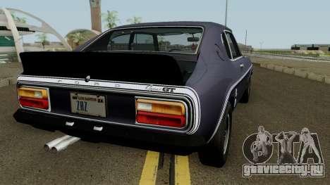 Ford Capri RS 3100 1973 для GTA San Andreas вид справа