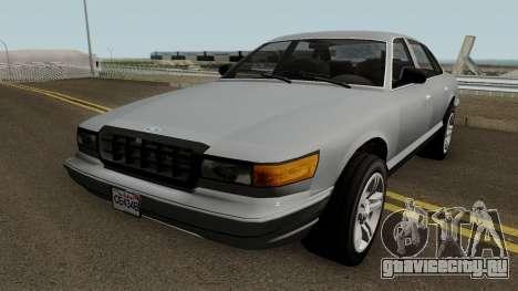 Ford Crown Victoria 1992 (Stanier Style) для GTA San Andreas