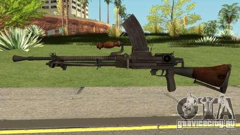 Type-99 Light Machine Gun для GTA San Andreas