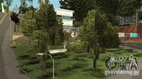 Vegetation From GTA 3 для GTA San Andreas