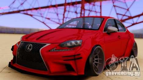 Lexus IS350 для GTA San Andreas