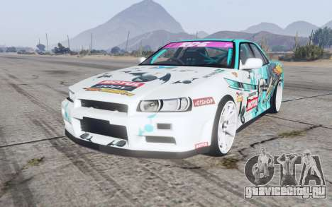 Nissan Skyline GT sedan (ER34) 2000 GT-Shop v1.1 для GTA 5