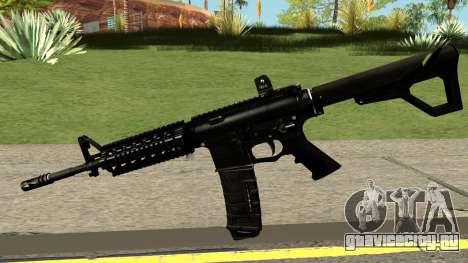 Contract Wars M4A1 Custom для GTA San Andreas