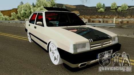 Tofas Dogan SLX (Modified) M.O.Yapım для GTA San Andreas вид изнутри