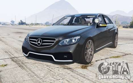 Mercedes-Benz E 63 AMG (W212) Unmarked Police для GTA 5