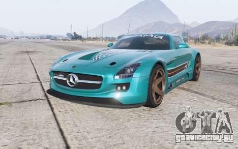 Mercedes-Benz SLS 63 AMG GT3 (C197) 2012 для GTA 5