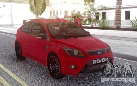 Ford Focus RS Red для GTA San Andreas