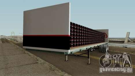 Coca Cola Zero Trailer для GTA San Andreas