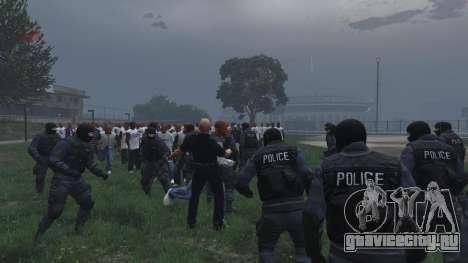 30 SWAT VS 60 Gangsters 1.0 для GTA 5 пятый скриншот