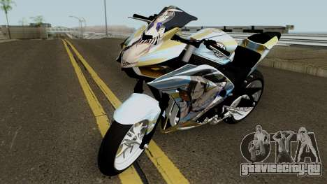 Yamaha R25 Mitsumine Itasha для GTA San Andreas