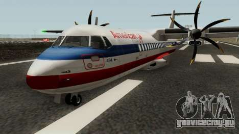 ATR 72-500 - Final Updated для GTA San Andreas